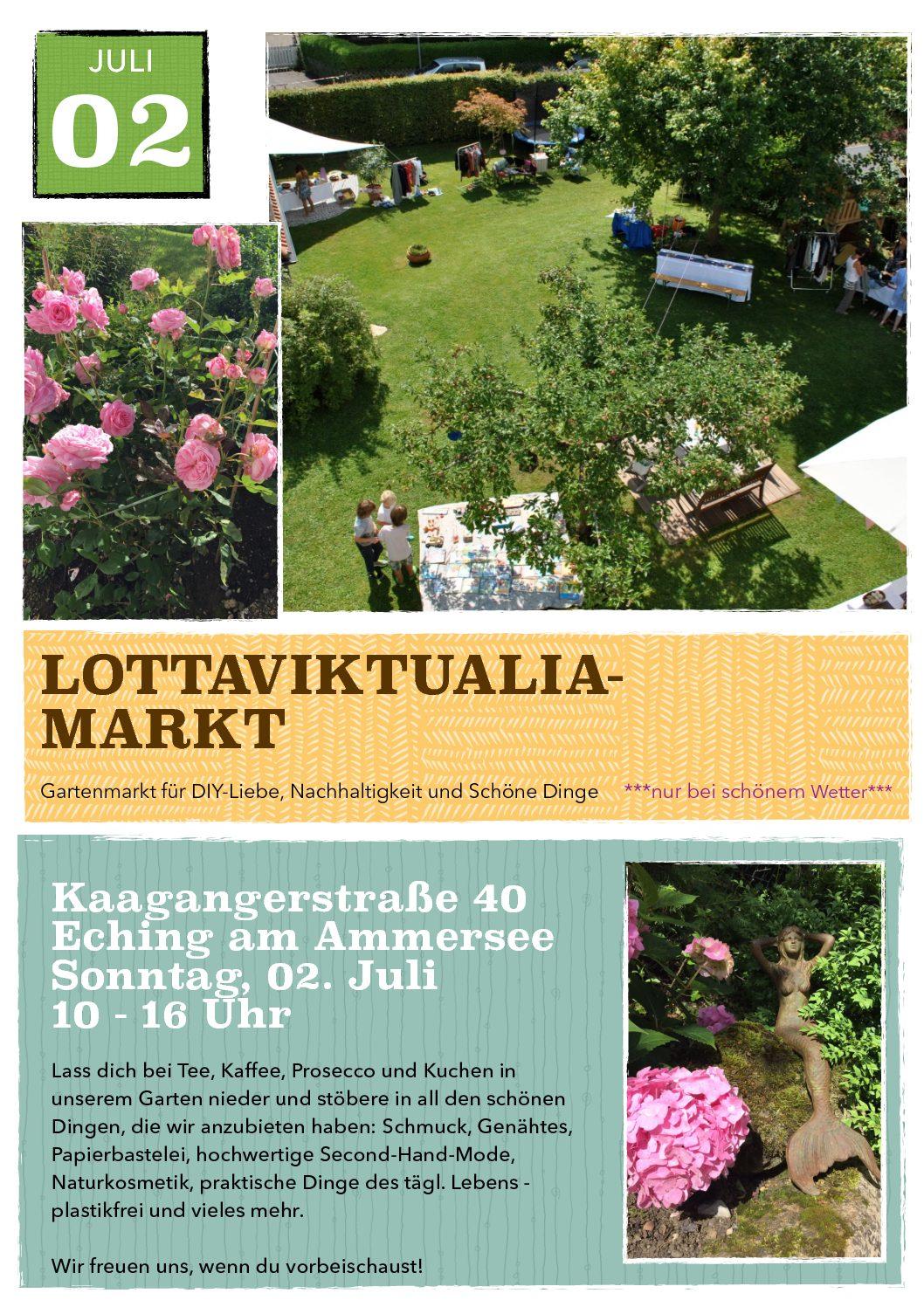 Lottaviktualia-Markt in Eching am Ammersee