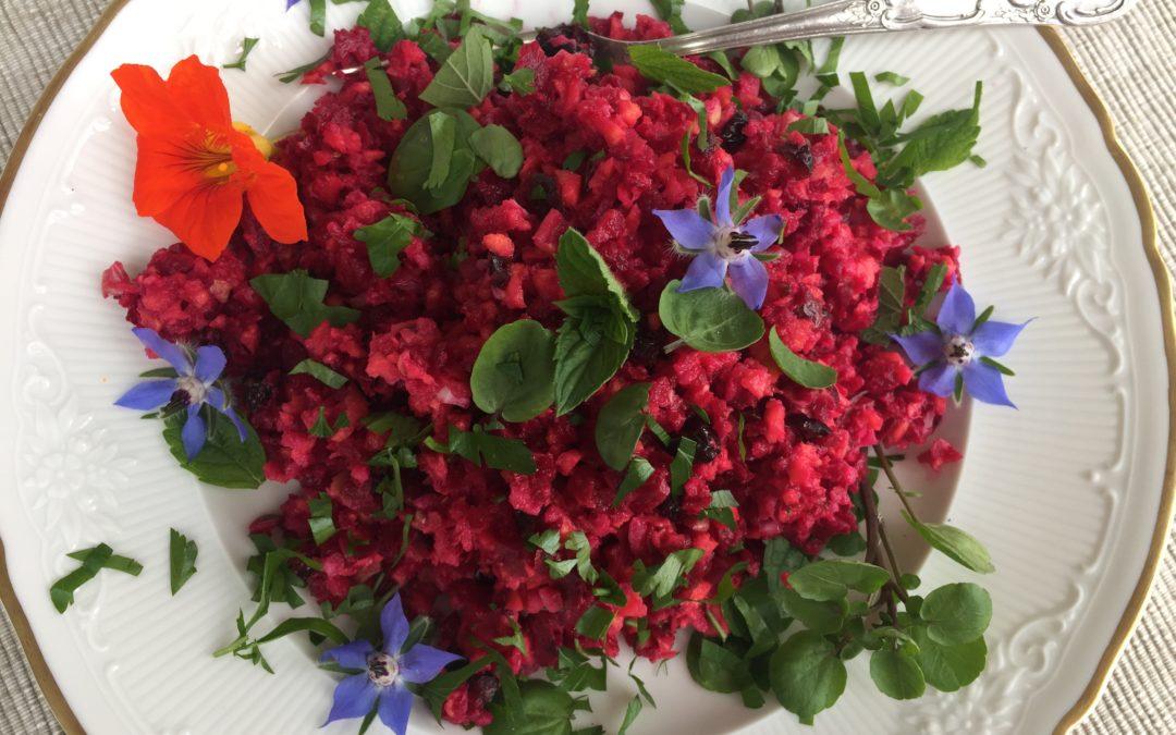 Rote Bete-Süßkartoffelsalat