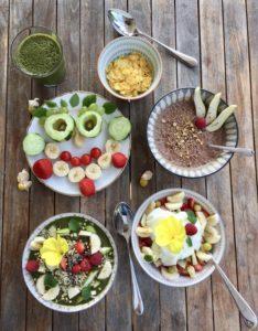 buntes Familien-Frühstück