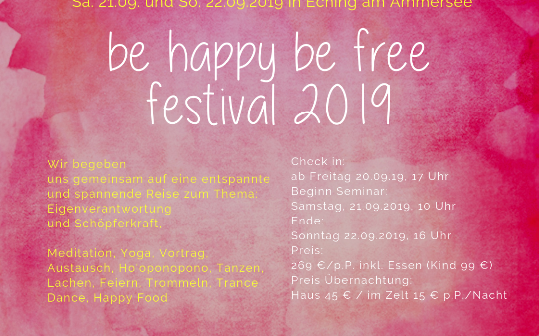 2. be happy be free Festival